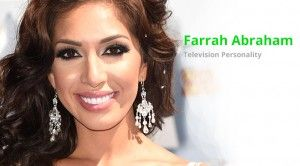 Farrah Abraham is an American reality television personality. In 2013, Abraham gained notoriety after the release of the 'sex tape' Farrah Superstar: Backdoor Teen Mom, in which she appeared with adult-film star James Deen