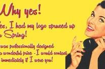 Spruce up your logo!