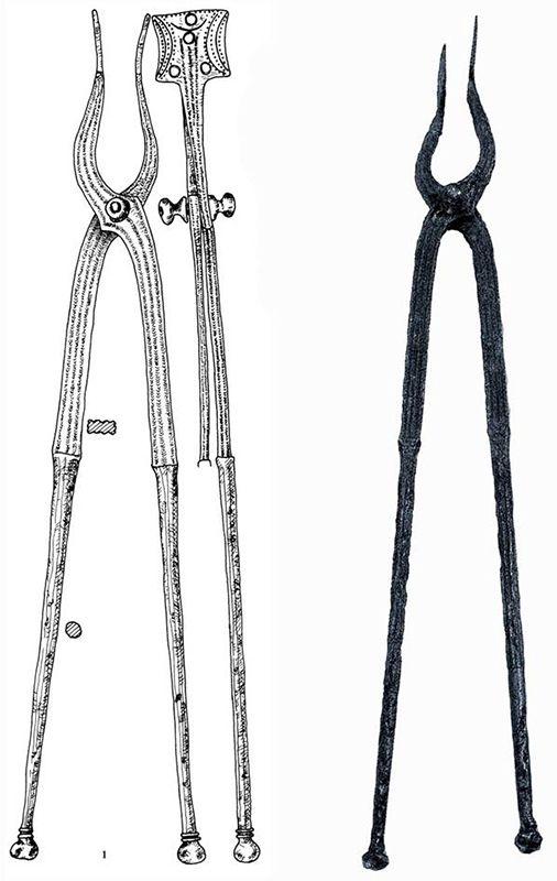 Ancient dacian  tool, sarmizegetusa regia