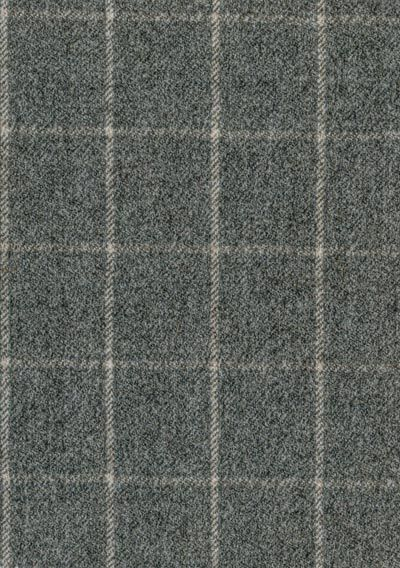 This smart grey check would look great on a sofa or armchair.