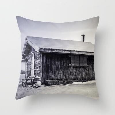 Winter Wonderland  Throw Pillow by Håkon Jørgensen - $20.00