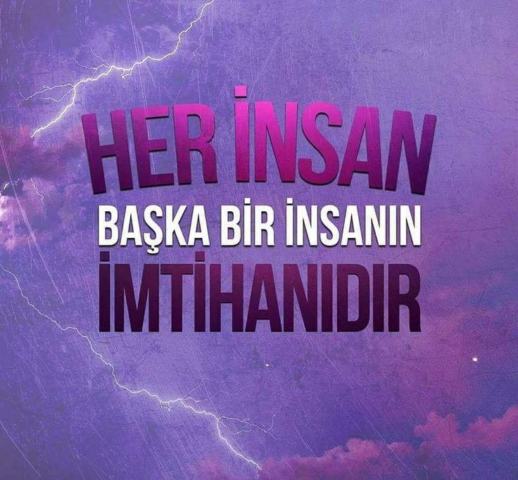 Her insan başka bir insanın  imtihanıdır.  #imtihan #dünya #insan #ahiret #cennet #sınav #istanbul #müslüman #türkiye #ilmisuffa