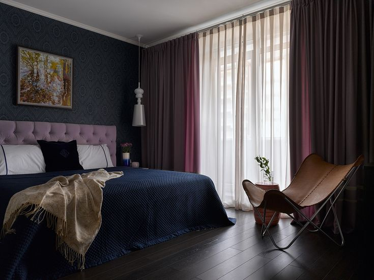 Фото из статьи: Белая кухня и цветные стены в яркой квартире в Подмосковье