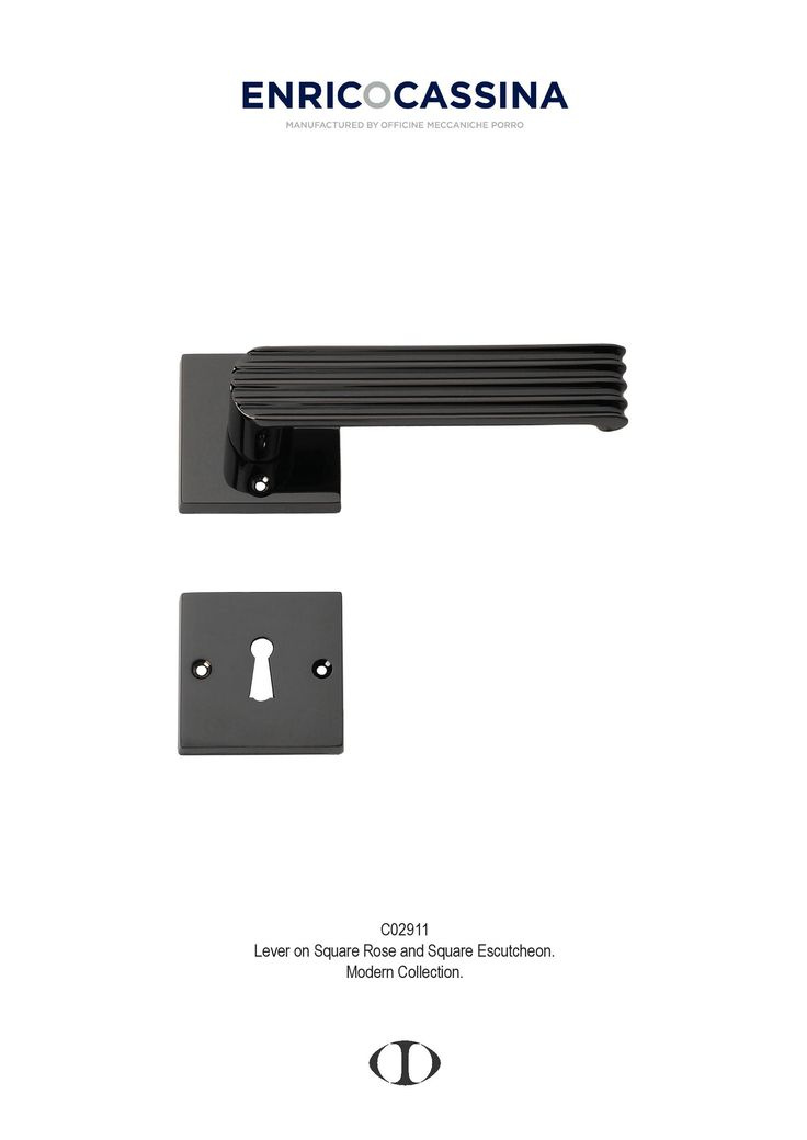 thirties, black nickel, lever on square rose, escutcheon, style, door handle