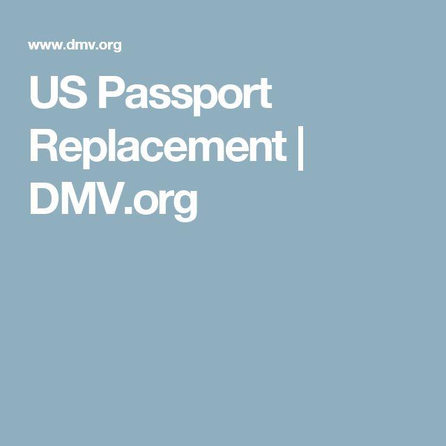US Passport Replacement | DMV.org