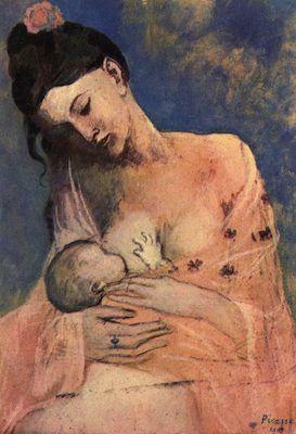 Maternité, par Pablo Picasso