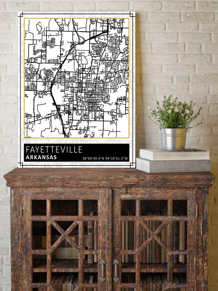 Fayetteville Arkansas Fayetteville Map Street Map Street