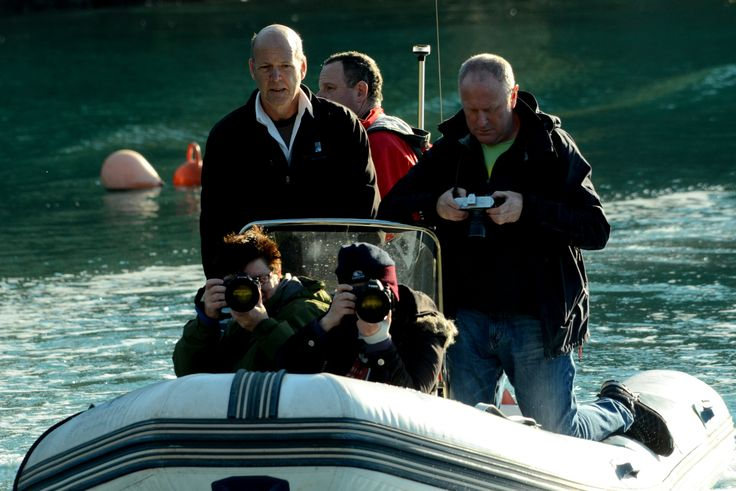 Budding photographers head out on the tender to check out the birds and other marine wildlife surrounding the lodge