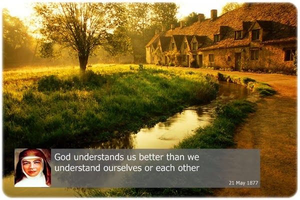 God understands us better than we understand ourselves or each other