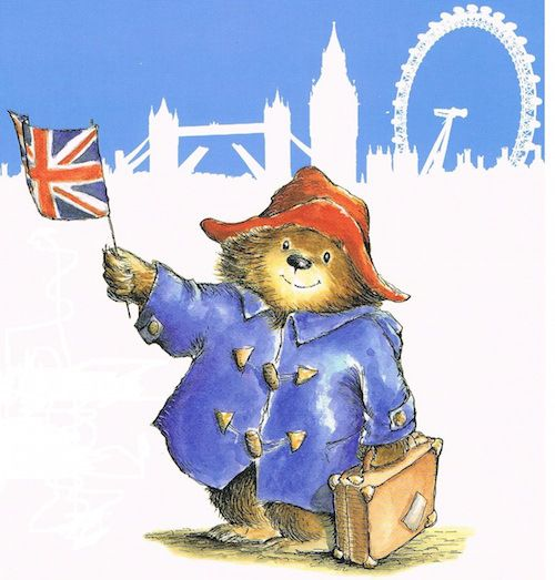 paddington bear story illustrations - Google Search