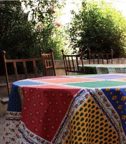nappe ronde ischia blanche 180 cm nappes linge de. Black Bedroom Furniture Sets. Home Design Ideas