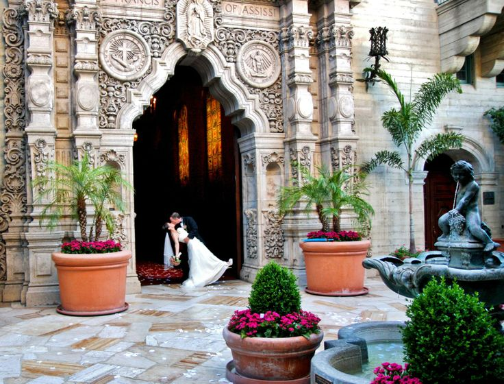 The Mission Inn ~ Riverside, CA - St. Francis of Assisi chapel, a frequent place for weddings