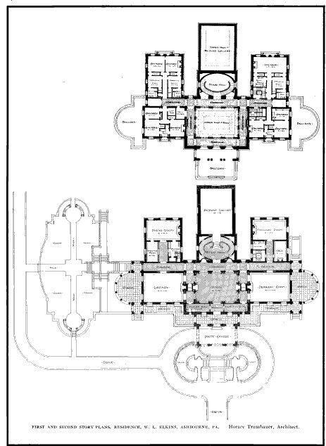 61 best gilded era mansion floor plans images on pinterest