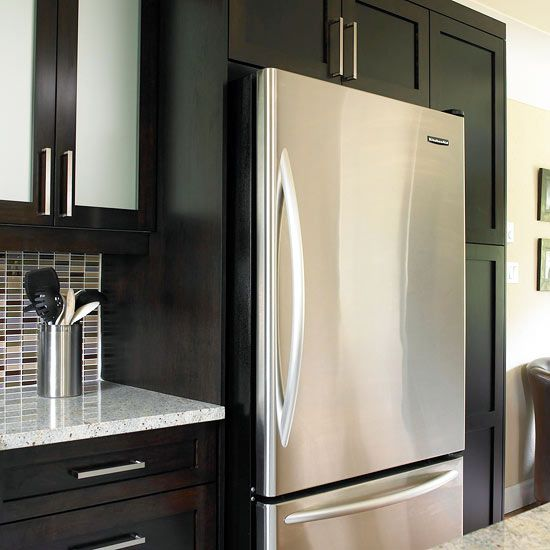 To perform your monthly refrigerator cleaning, start by wiping the interior of your refrigerator.