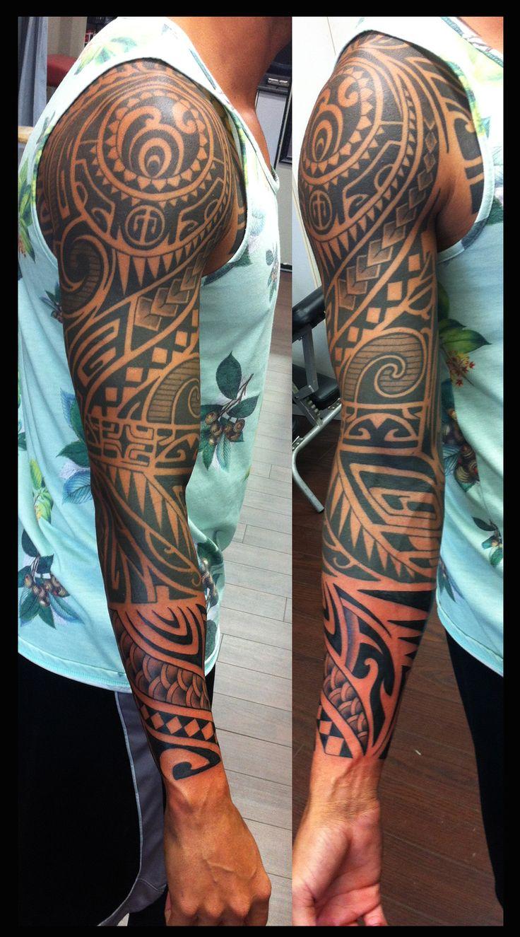 Blackwork tattoo by Amanda Marie. The Tell Tale Heart Tattoo & Gallery. Burlington, Ontario.