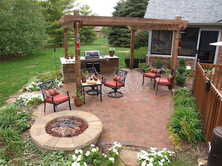 92 best patio design ideas / examples images on pinterest | patio ... - Patio Fire Pit Designs Ideas