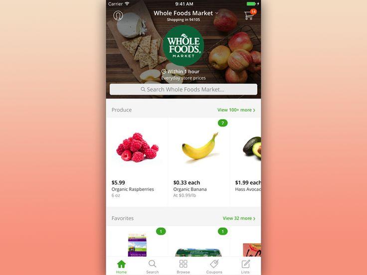 Fresh Groceries App - Instacart