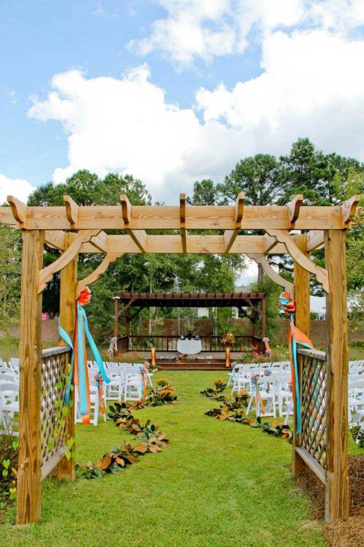 Cypress Bend Vineyards Wagram, NC Vineyard wedding