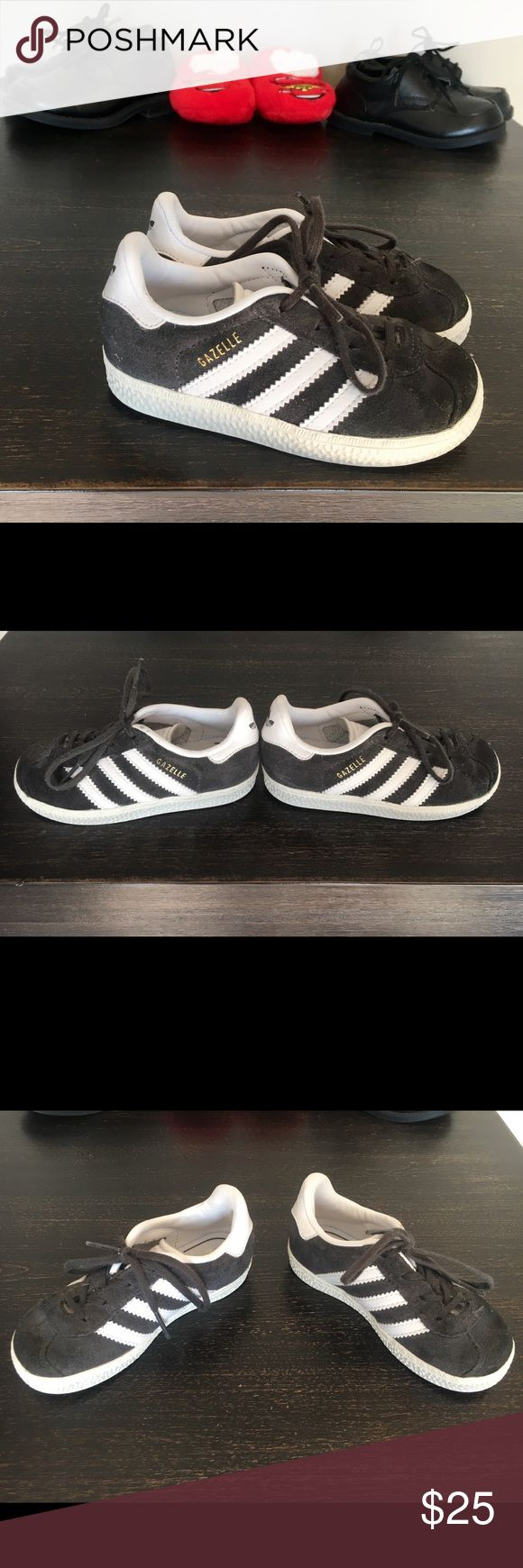 Adidas Gazelle (sz 11 Todd) So cute! Bundle with other shoes for more great deals adidas Shoes Sneakers
