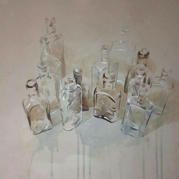 Nono Garcia. Watercolour