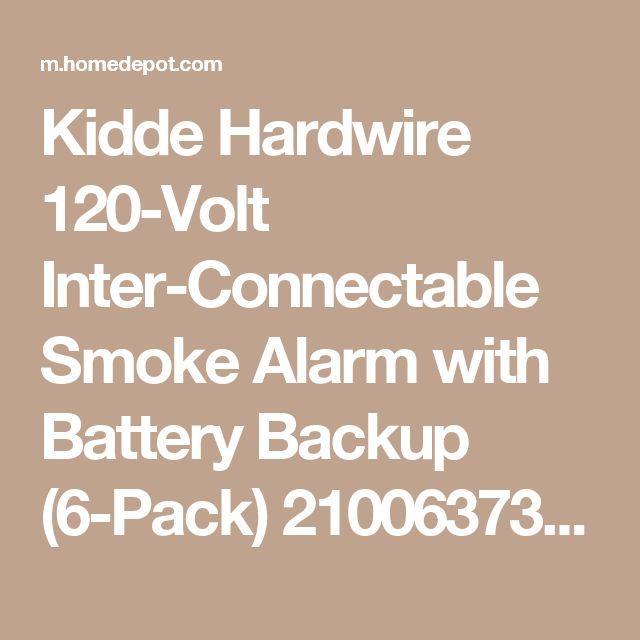 Kidde model 1276 home depot