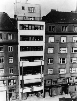 Avion Hotel by Bohuslav Fuchs, Brno, Czech Republic, 1926-7