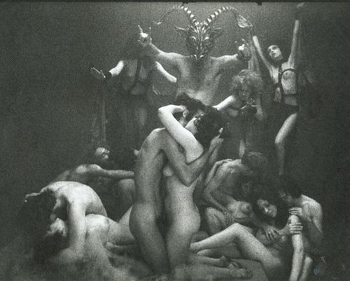 Do witches indulge in sex orgies