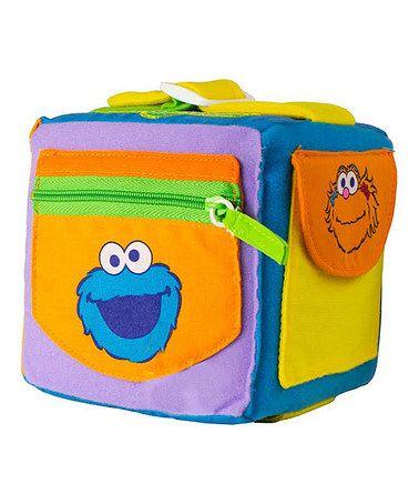 Another great find on #zulily! Sesame Street Dress Me Activity Cube #zulilyfinds