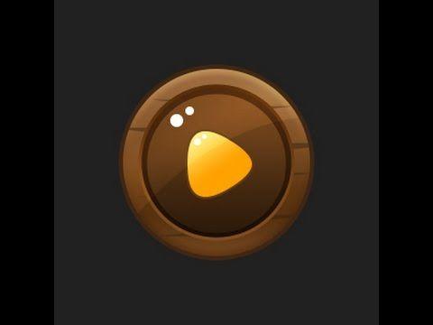Photoshop Game Button #06 [UI design] - YouTube