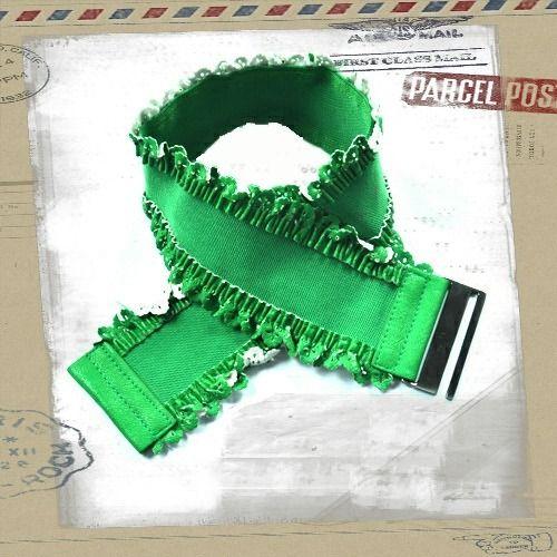 Popsie Ltd - Lacey Edge Stretch Belt Green, $13.81 (http://www.popsie.co.nz/lacey-edge-stretch-belt-green/)