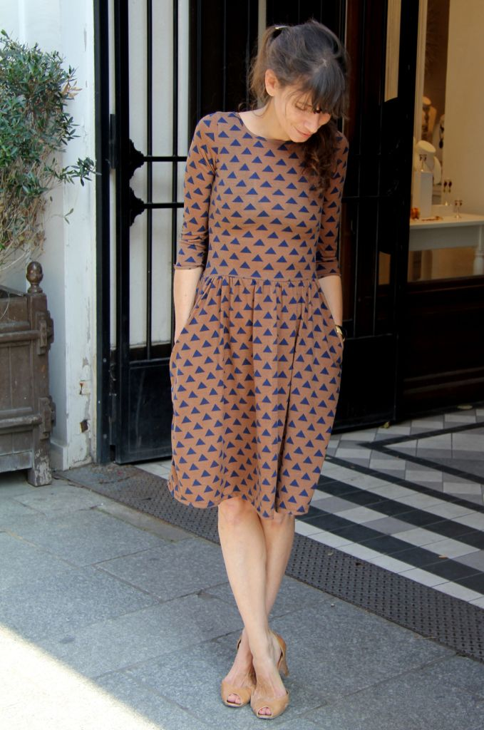 Moneta Dress sewing inspiration