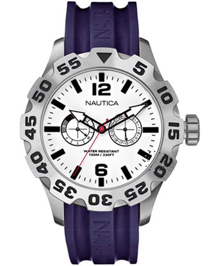 NAUTICA BDF 100 Multi Purple Rubber Strap Μοντέλο: A18650 Η τιμή μας: 242€ http://www.oroloi.gr/product_info.php?products_id=33936