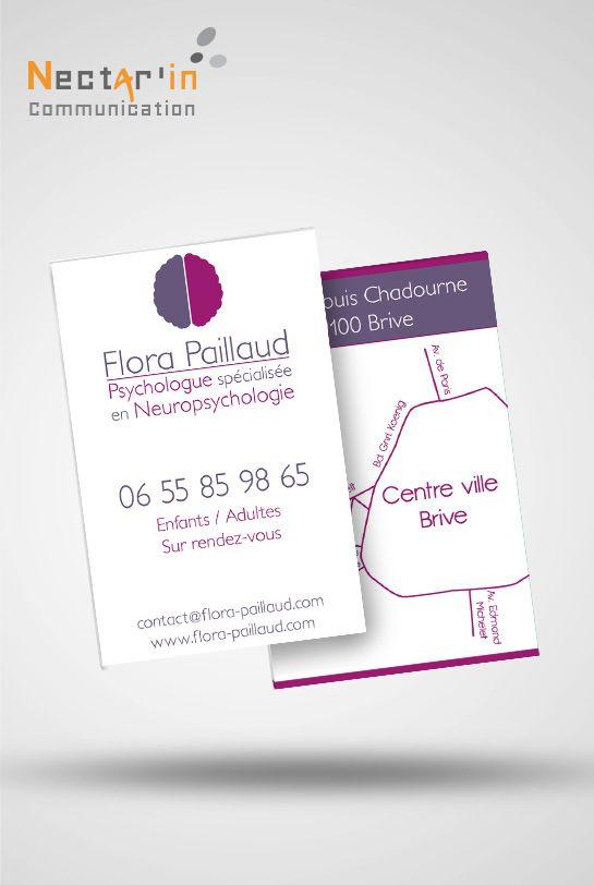 Carte de visite, Flora Paillaud