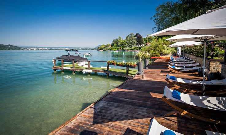 Hotel Yoann Conte in Veyrier-du-Lac, France #hotel #lakeannecy #relax #summer