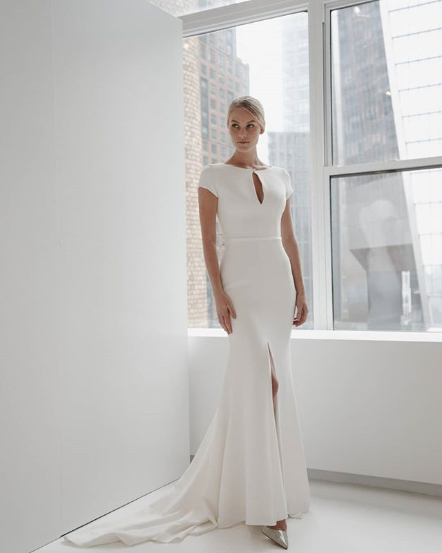Our Angel Anitaxjane In The Elodie Gown In Nyc With Stunning