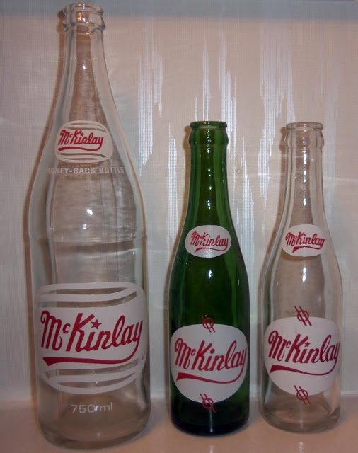 Soda Pop Bottles, McKinlay and Sons Limited, Glace Bay, Cape Breton | Photographs And Memories, Cape Breton, Nova Scotia