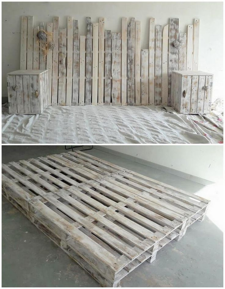 25 best ideas about wood pallet headboards on pinterest head board bed pallet headboards and. Black Bedroom Furniture Sets. Home Design Ideas