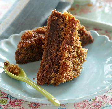 Med både chokolade og kokos kan det ikke andet end blive en lækker kage.