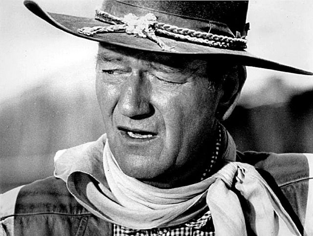 """On this day in 1970, the legendary actor John Wayne wins his first and only acting Academy Award for starring in the Western """"True Grit"""""""