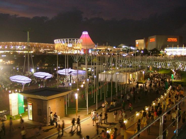 Night view of #Expo2005 #Aichi #Japan #Worldsfair