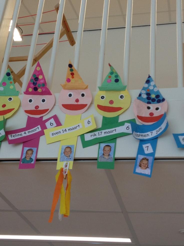 Verjaardag clown