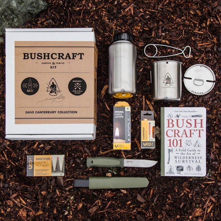 Dave Canterbury- Bushcraft Survive and Thrive Kit | More interesting stuff on our Crystal + Herbal Medicine Blog @ www.crystalife.co.uk |