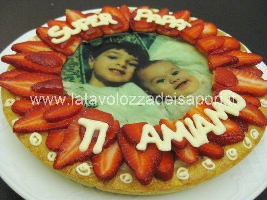 Torta di Frutta per la Festa del Papà   http://www.latavolozzadeisapori.it/ricette/torta-di-frutta-per-la-festa-del-papa