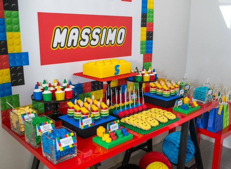 Little Wish Parties | Amazing Lego Birthday Party | https://littlewishparties.com                                                                                                                                                                                 More