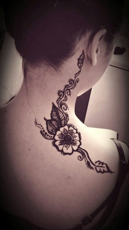 Henna Tattoo Neck Designs: 94 Best Images About Henna On Pinterest