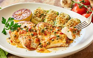 Olive Garden Chicken Piccata 530 Calories and 15 Weight ...