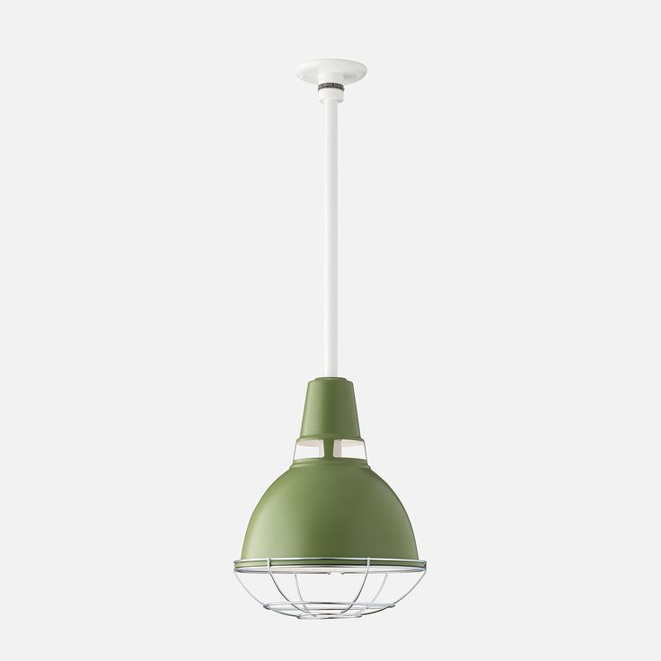 Factory Light No. 6 Rod Pendant with Cage, $319; available September 15th