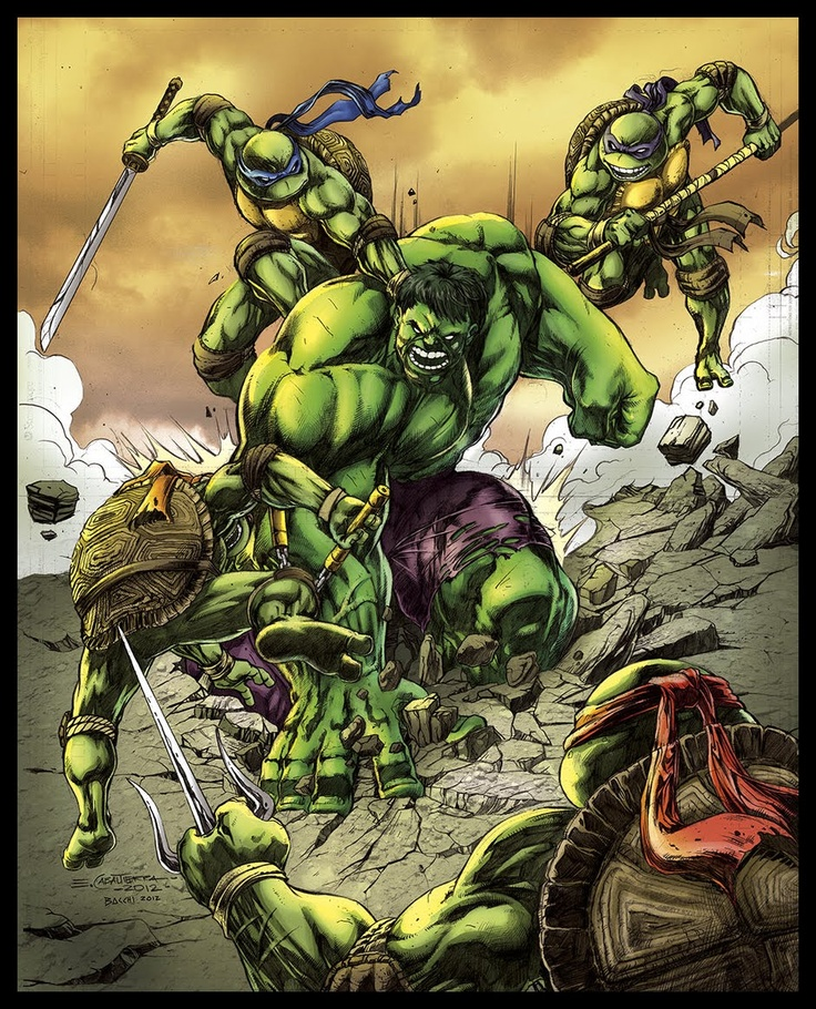 Teenage Mutant Ninja Turtles vs. the Hulk | Comic Book ...