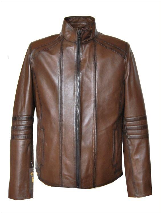 Ανδρικό δερμάτινο μπουφάν Μοντέλο: SL-14 Δέρμα: nappa tamponatto Τιμή: 330€