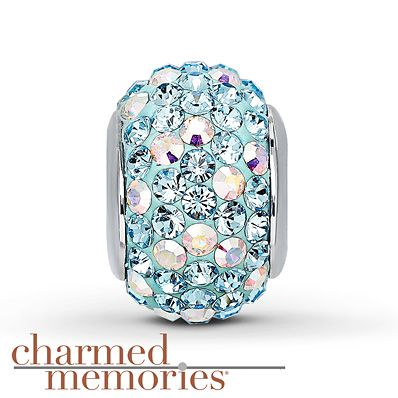 Charmed Memories Swarovski Elements Sterling Silver Charm- Kay Jewelers